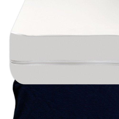 Vinyl Mattress Cover With Zipper Heavy Gauge Heavy Duty Vinyl Zippered Waterproof Bed Bug Proof Mattress Protector ...