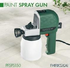 Parkside paint spray gun diy tools for Spray gun for oil based paints