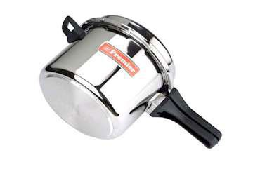 Stainless Steel Pressure Cooker (Sandwich Base) (5Ltr)
