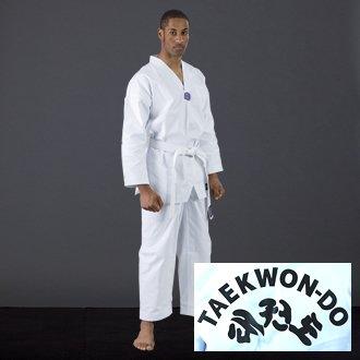Blitz Sport Adult WTF Printed Taekwondo Suit 5/180cm