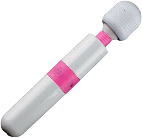 USB 充電式 ミニ マッサージャー アイマスク 付き 激振動 超静音 ミルキー