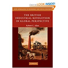 The British Industrial Revolution in Global Perspective (New Approaches to Economic and Social History) by Robert C. Allen