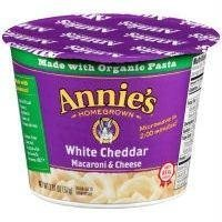Annie's Homegrown Single Cup White Cheddar (12x2.01OZ ) by Annie's Homegrown