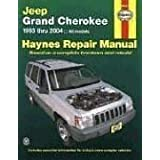 Jeep Grand Cherokee 1993 - 2004 Haynes Repair Manualby Larry Warren