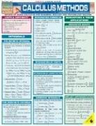 Calculus Methods (Quickstudy: Academic)