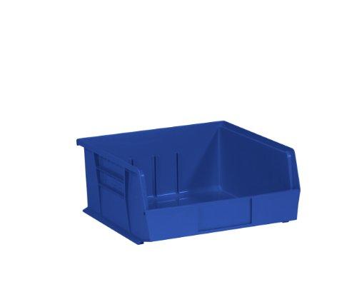 Aviditi BINP1111B Plastic Stack and Hang Bin Boxes, 10 7/8
