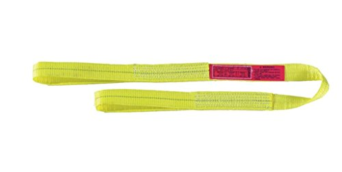 Liftall EE2606DFX12 Polyester Web Sling, 2-ply, Eye and Eye, Flat Eye, 6