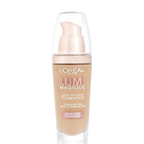 L'Oréal Paris Lumi Magique, Fondotinta, Rose Beige, 30 ml