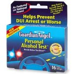 Cheap Guardian Angel Personal Alcohol Test Multipack, 4 Wallet-Sized Cards, 4 Tests In Each – 16 ea (B00006JHR0)