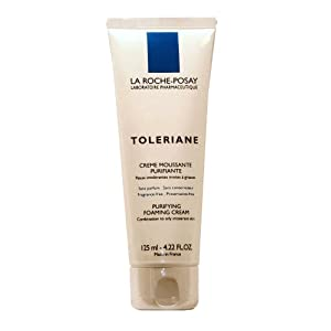 La Roche-Posay Toleriane Purifying Foaming lotion Cleanser for mixture to greasy Intolerant pores and skin (125ml) 4.22 Fluid Ounces