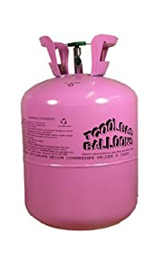 Disposable Helium Balloon Gas Cylinder - 50 Balloon Cylinder - Single