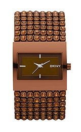 DKNY 3-Hand Analog with Glitz Women's watch #NY8396