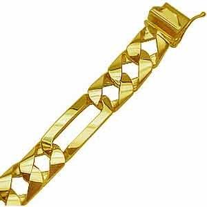 14Kt Gold Men's Bracelets