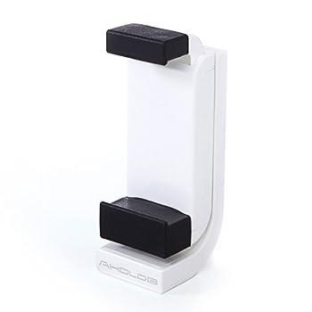 サンワダイレクト iPhone・スマホ三脚ホルダー スマートフォンアタッチメント 90度回転 200-CAM025