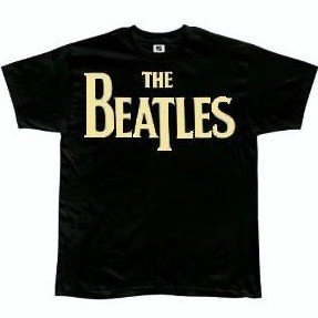 The Beatles 'Forever' Youth black t-shirt (Medium-Youth)