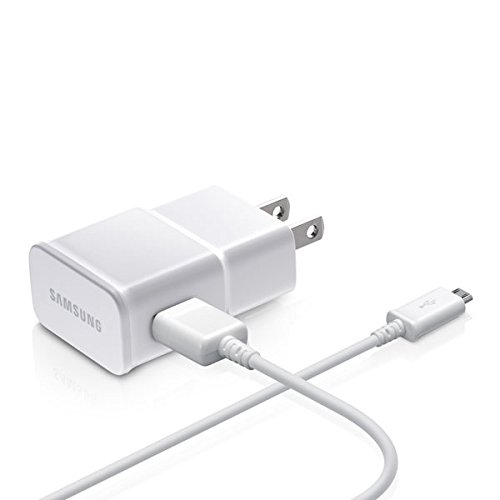 Samsung OEM 2-Amp Adapter with 5-Feet Micro USB Data Sync Charging Cables for Galaxy S2/S3/S4 Active/Note 1/2 - Non-Retail Packaging - White (Samsung Galaxy S2 Used compare prices)