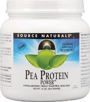 Pea Protein Power Source Naturals, Inc. 1 Lbs Powder