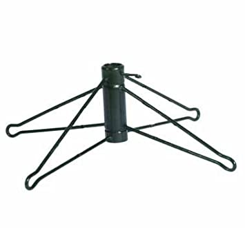 #!Cheap Green Metal Christmas Tree Stand For 8.5' - 9.5' Artificial Trees