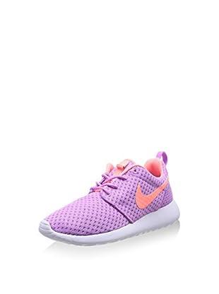 Nike Zapatillas Wmns Rosherun Br (Lila / Rosa)