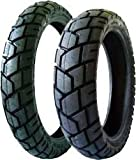 Shinko 705 Series Dual Sport Tire - Front/Rear - 130/80-17 , Position: Front/Rear, Tire Size: 130/80-17, Rim Size: 17, Tire Ply: 4, Load Rating: 65, Speed Rating: H, Tire Construction: Bias, Tire Type: Dual Sport, Tire Application: All-Terrain XF87-4521