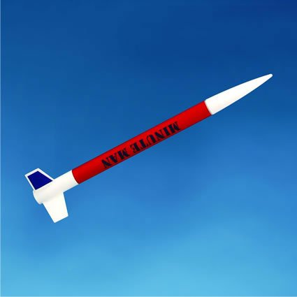 Minute Man Model Rocket Kit
