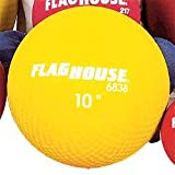 FLAGHOUSE 10 Playground Ball - Red