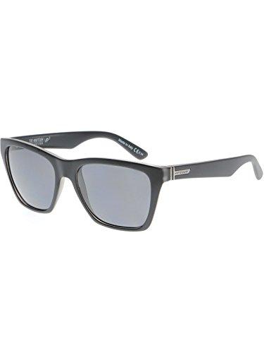 Occhiali Da Sole Polarizzati Von Zipper Booker Nero Smoke Satin-Grigio Poly (Default , Nero)