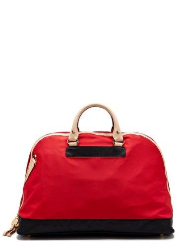 Danzo Diaper Retro Bag, Engine Red/Black front-26652
