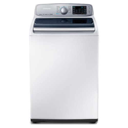 Samsung WA50F9A6DSW Top Load Washer with AquaJet, 5.0 Cubic Feet, Neat White