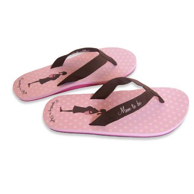 Fabulous Mommy To Be Flip Flop Sandals (Medium(7-8), Pink) front-740872