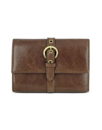 Coccinelle Slice - Signature Buckle Calf Leather French Purse Wallet Dark Brown - Buy Coccinelle Slice - Signature Buckle Calf Leather French Purse Wallet Dark Brown - Purchase Coccinelle Slice - Signature Buckle Calf Leather French Purse Wallet Dark Brown (Coccinelle, Apparel, Departments, Accessories, Wallets, Money & Key Organizers, Billfolds & Wallets, Leather)