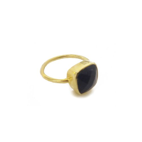 apop nyc 18k Gold Vermeil Blue Lapis Lazuli Ring Size 9