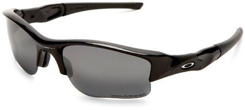 Oakley Men's Flak Jacket XLJ Polarized Sunglasses,Jet