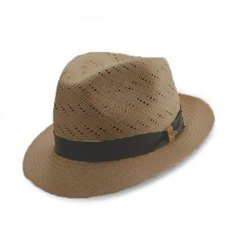 Panama fedora with vents