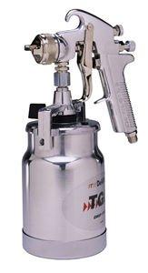 DeVilbiss JGA644 JGA Suction Feed Spray Gun - 1.6mm with One-Quart Cup