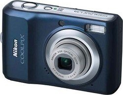 Cheap Nikon Coolpix L20 10MP Digital Camera with 3.6 Optical Zoom and 3 inch LCD (Navy Blue)