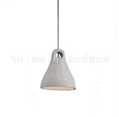 JMWCP Semplice lampadario lampadario Creativa Americana continentale del cemento del paese fly-leaf sala da pranzo soggiorno calcestruzzo Cemento lampade spia