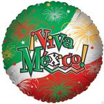 Viva Mexico Balloons 18' (5 ct) - 1