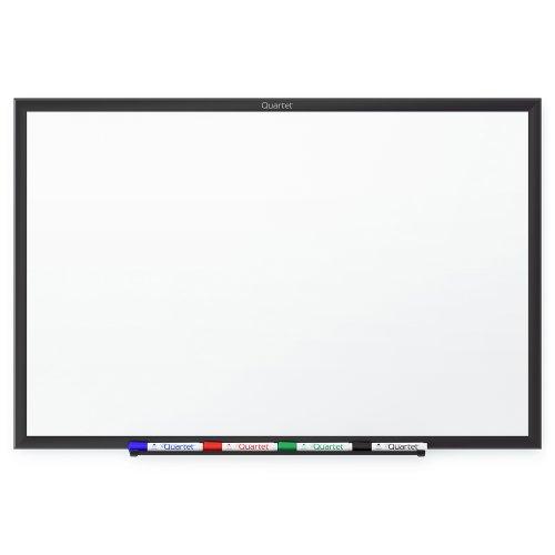 Quartet Standard Whiteboard, 4 X 3 Feet, Black Aluminum Frame (S534B)