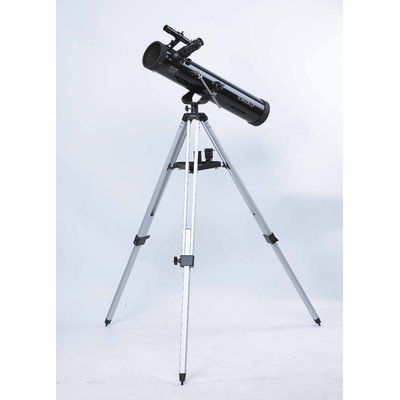 Rokinon 767Az1 700 X 76 Mm Reflector Telescope With Tripod (Black)