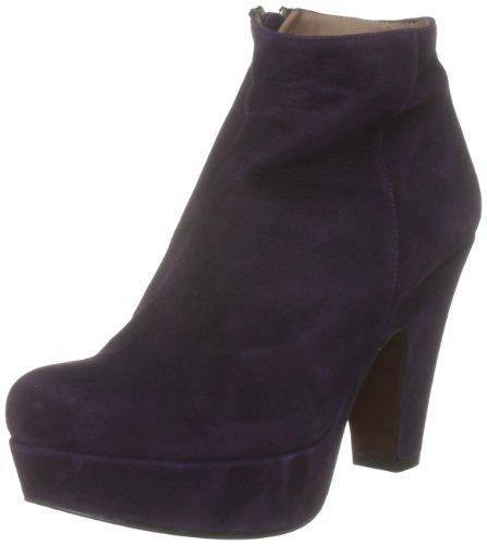 Pied A Terre Women's Scoria Purple Ankle Boots A11L/Su55/Lbd0081 4 UK