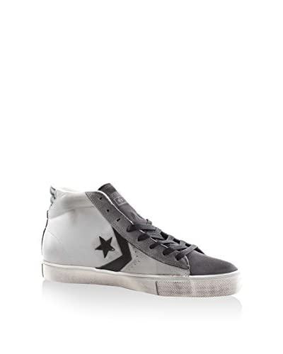 Converse Hightop Sneaker Pro Leather Vulc grau