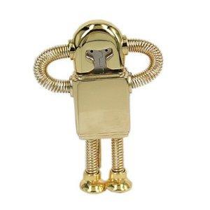 High Quality 16 GB Metal Robot Shape USB Flash Memory Drive by T &  J