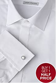Savile Row Inspired Pure Cotton Dress Shirt