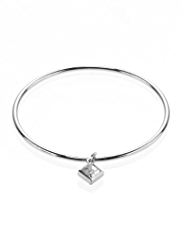Autograph Princess Cut Pendant Bracelet MADE WITH SWAROVSKI® ELEMENTS