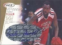 Trenton Hassell Chicago Bulls 2001 Sage Authentic Signature Autographed Hand Signed... by Hall+of+Fame+Memorabilia