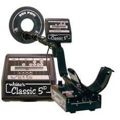 White's Classic 5ID Metal Detector w/ 9.5