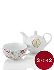 Kirstie Allsopp Porcelain Tea for One Set