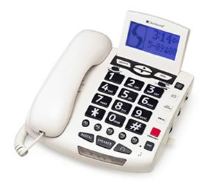 Clear Sounds Amplified Bigbutton Spkrphone 50Db White