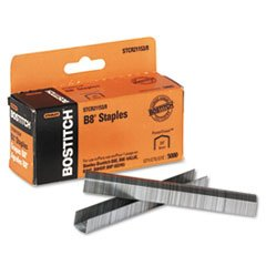 "Stanley Bostitch 3/8"" Leg Length B8 Powercrown Staples, 5000/Box"